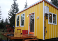 The woman herself built a tiny house so that she would not have to live in rented houses in retirement